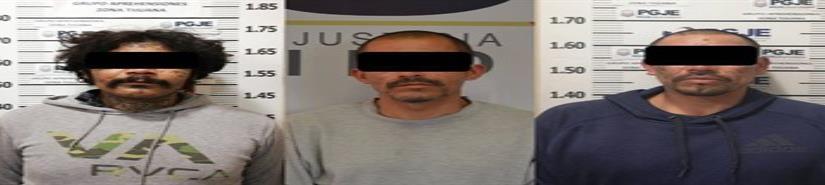 Ministeriales aprehenden a los adictos que asesinaron a 3 jóvenes en Lomas Verdes
