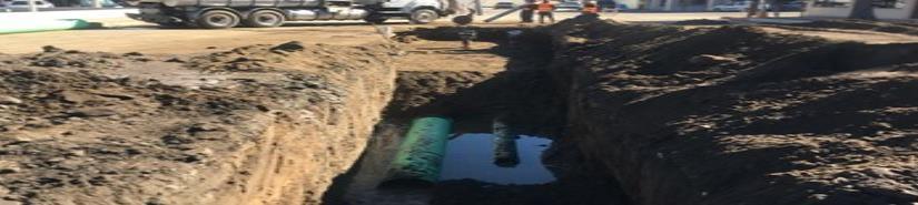 Realiza Gobierno del Estado reparación de colector de aguas residuales