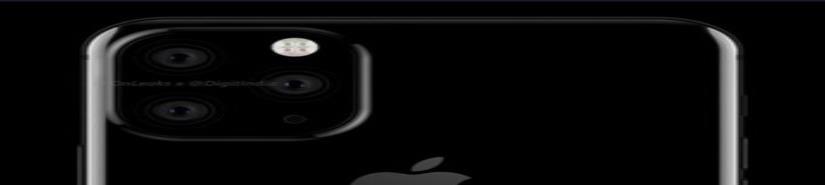 Con 3 cámaras traseras podría tener el iPhone 11