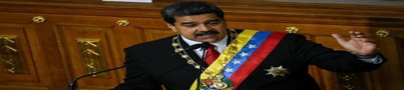 Aislado, Maduro jura nuevo mandato