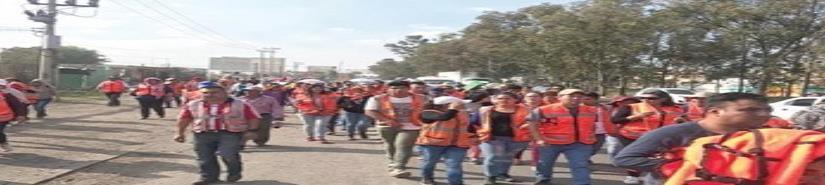 Obreros de NAIM exigen finiquito