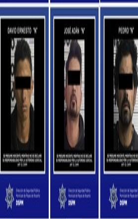 Detiene policía Municipal a 8 personas por diversos delitos