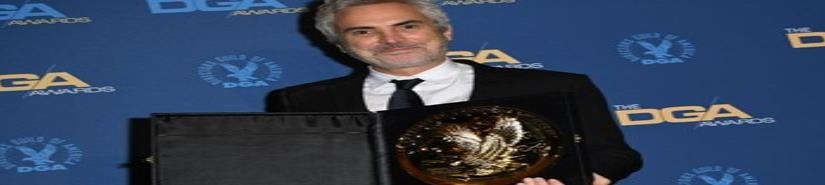Cuarón triunfa con Roma en premios del Sindicato de Directores