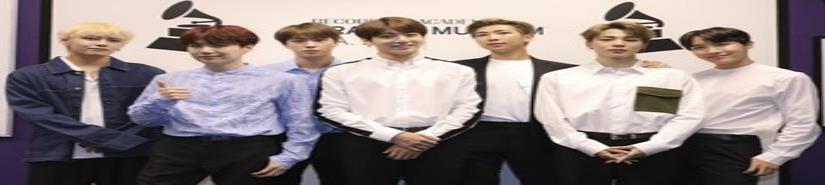 BTS no consigue levantar un Grammy