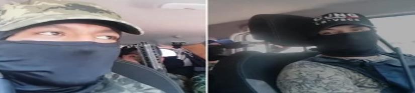 Indagan video de presuntas amenazas del CJNG a delincuentes en GAM (VIDEO)