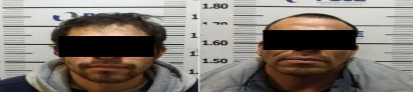 En prisión preventiva dos sujeto por robo de  vehículo