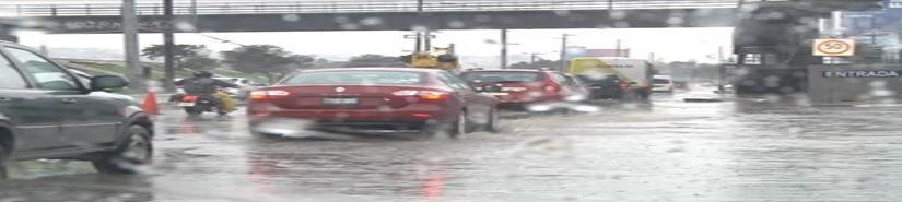 Se pronostican lluvias moderadas el miércoles; jueves y viernes de fuertes a muy fuertes