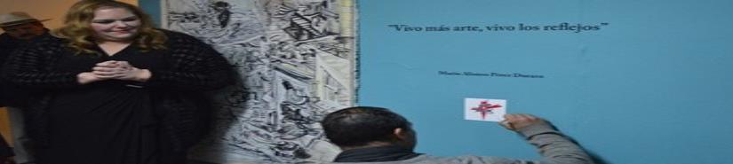 """En Galería de Tecate, inauguraron la exposiciónREFLEJOS """"Vivo más arte, vivo los reflejo"""""""