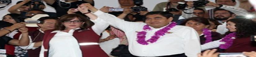 Exige Armenta quitar candidatura a Barbosa para gobierno de Puebla