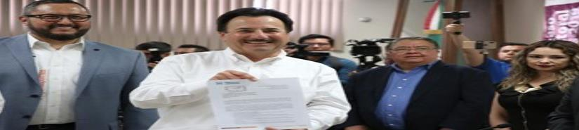 Gastélum solicita registro como candidato a Alcalde
