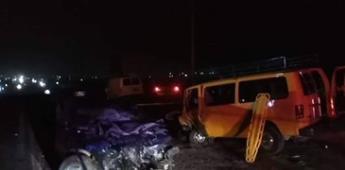 Muere conductor en percance carretero