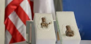 EU devuelve a México piezas arqueológicas de la cultura teotihuacana