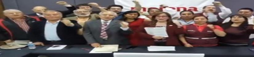 Con firmas y video, reafirman candidatura de Barbosa en Puebla