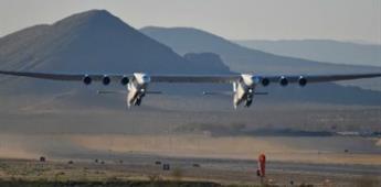 Primer vuelo del avión más grande del mundo (VIDEO)