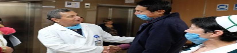 Logran hazaña médica con doble trasplante