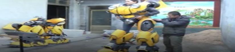 Cosplayers chinos llevan sus trajes de Transformer a otro nivel (VIDEO)