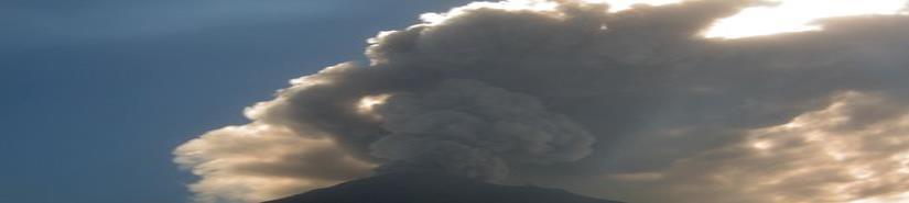 Popocatépetl emite ceniza; semáforo continúa en Amarillo Fase 3