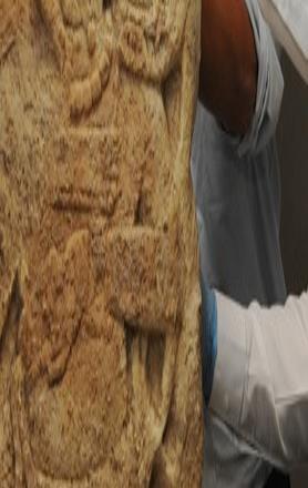 EU repatria a México fragmento de la Estela 2 del sitio maya