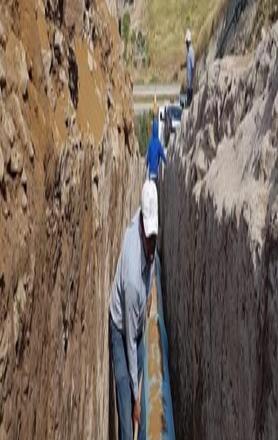 """""""Cortan"""" 130 litros de agua por segundo a Ensenada"""