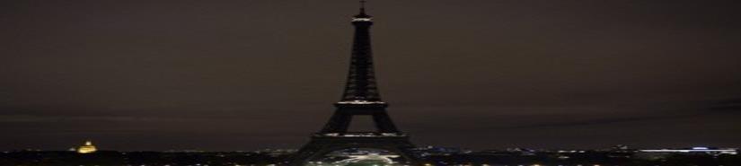 Torre Eiffel honra a víctimas de ataques en Sri Lanka