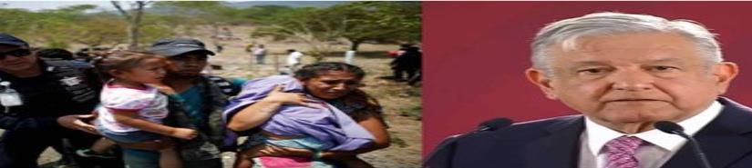 AMLO promete protección y acompañamiento a migrantes