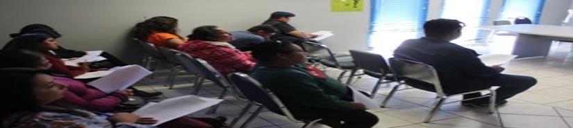 Imparte el ICBC un taller sobre el PACMyC 2019