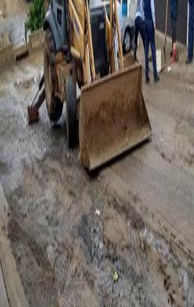 Reportan derrames de agua potable en fraccionamiento Arcoiris.
