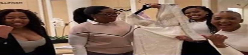 Oprah gasta $10,000 en vestido de novia para estudiante (VIDEO)
