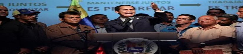 Guaidó lleva a sus seguidores ante los cuarteles (VIDEO)
