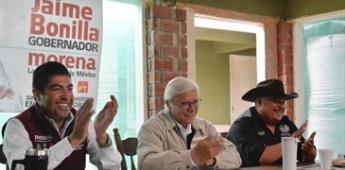 Armando Ayala promete defender la vocación agrícola del Valle de Guadalupe