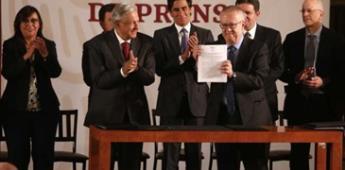 J.P. Morgan muestra confianza en gobierno de AMLO y Pemex