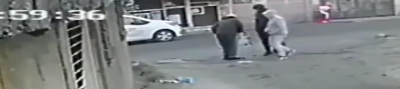 Captan asalto a hombre con andadera en Tlalpan (VIDEO)