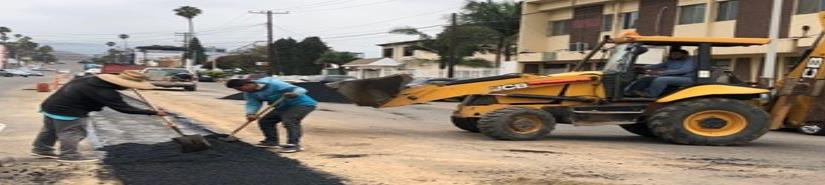 Rehabilita CESPE calles dañadas por trabajos de reparación de infraestructura.