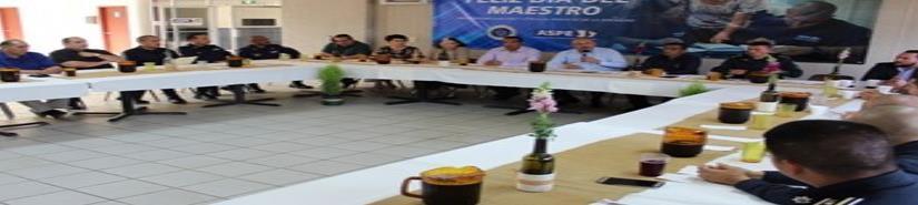 Personal docente de la ASPE clave en la seguridad de Baja California