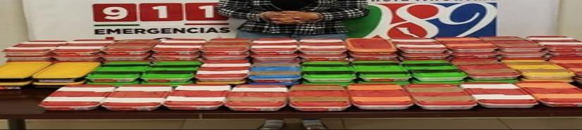 Incautan 48 kilos de mentafetamina en Tijuana