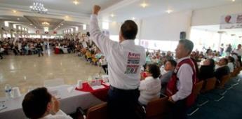 Mujeres de la COR respaldan a los candidatos de Morena