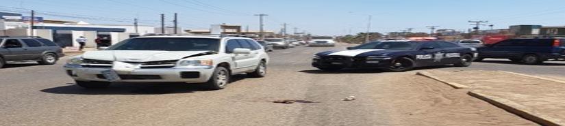 Peatón fue atropellado al intentar cruzar la carretera