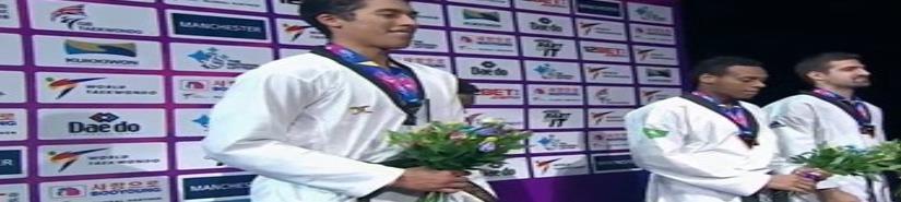 Histórica medalla de plata para México en Taekwondo