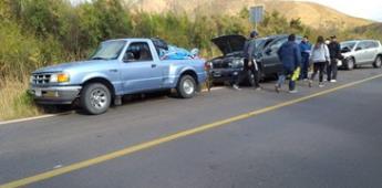 Carambola involucra a tres vehículos en San Vicente