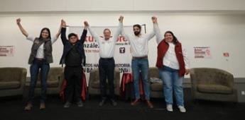 Vamos por trabajo, espacios políticos y créditos para los jóvenes: Arturo González
