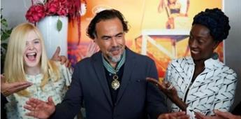 Nombran a Iñárritu Comandante de la Orden de las Artes y las Letras