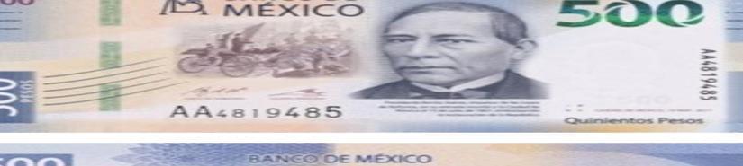 De Canadá el billete más bonito de 2018; cerca el mexicano de 500