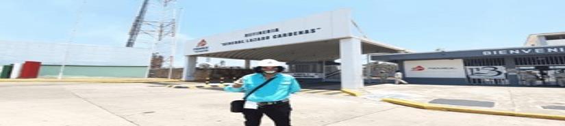 Cepillín visita refinería de Minatitlán y agradece a AMLO