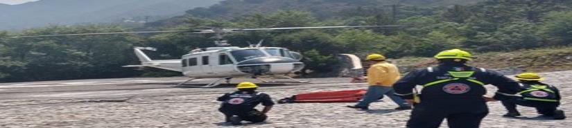 Hallan cuerpos de marinos tras accidente de helicóptero en Querétaro