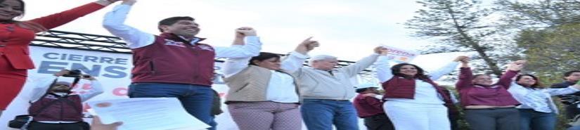 """""""Hagamos todos el cambio, hagamos historia en BC"""": Bonilla"""