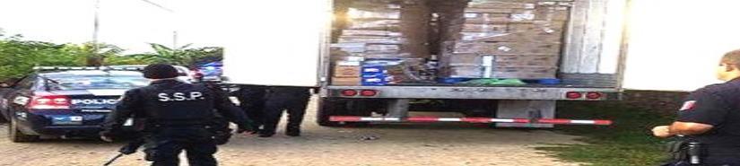 Aumentan los robos a transporte de mercancías