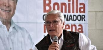"""""""No me asustan las finanzas en quiebra que me dejan en B. C."""", dice Bonilla"""