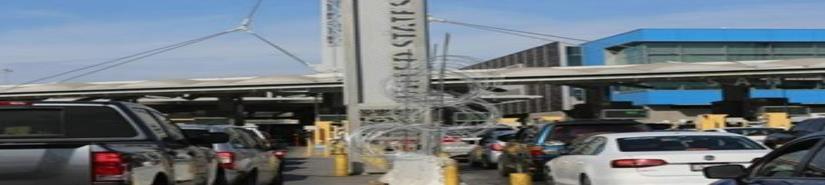 GSA abrirá cuatro carriles adicionales en dirección sur en la Garita de Entrada de San Ysidro