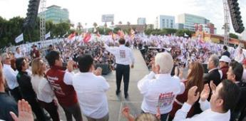 Morena ganará el 2 de Junio; candidatos en cierre de campaña