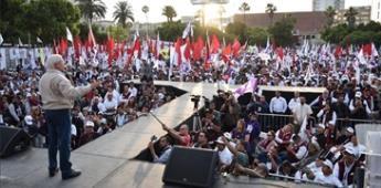 """Masivo el """"cierre de campaña"""" de Bonilla en Tijuana"""
